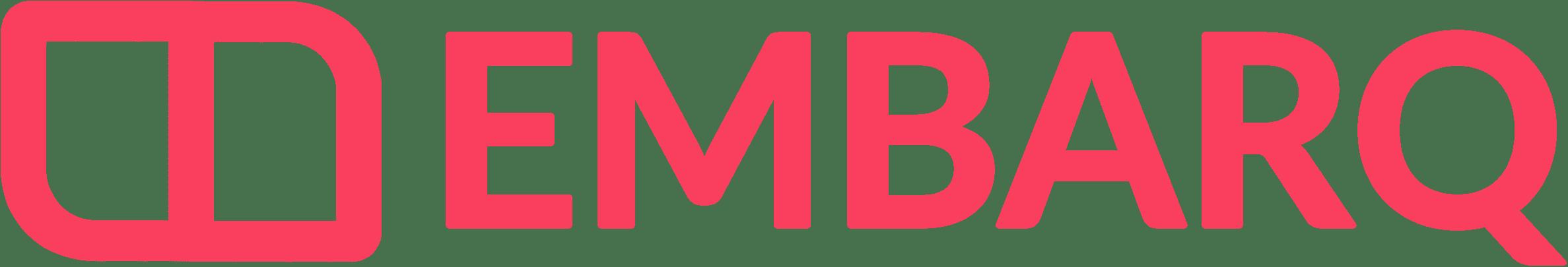 embarq logo horizontal pink